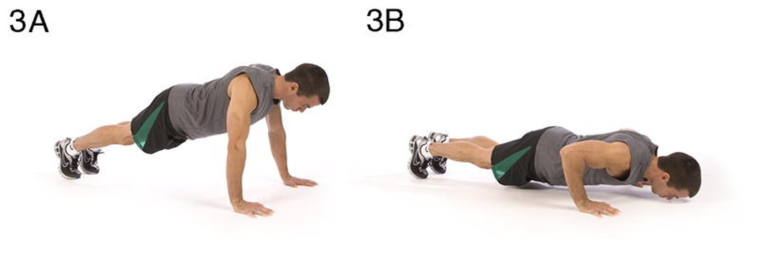 Push-up Upper body