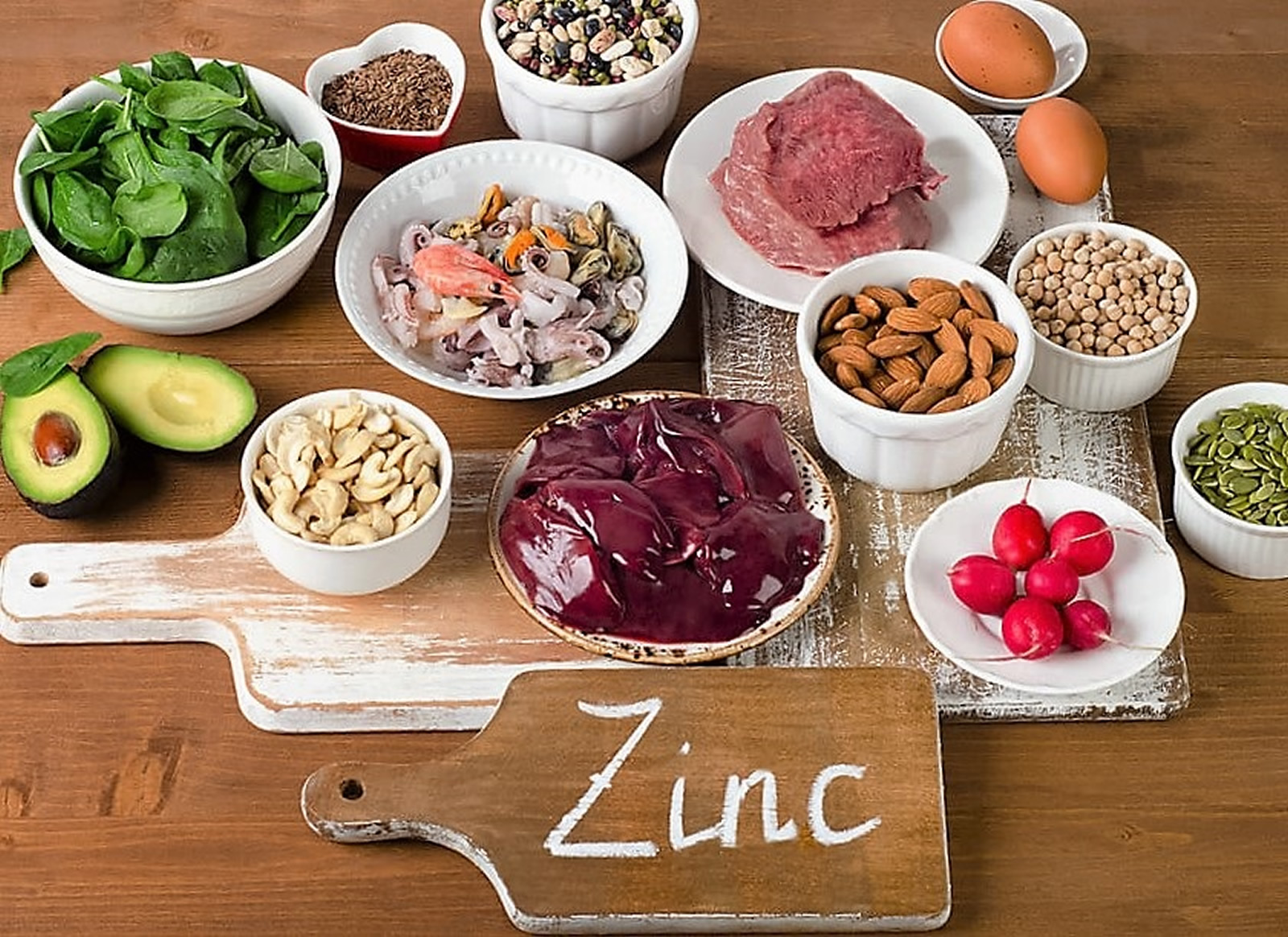 foods high in zinc