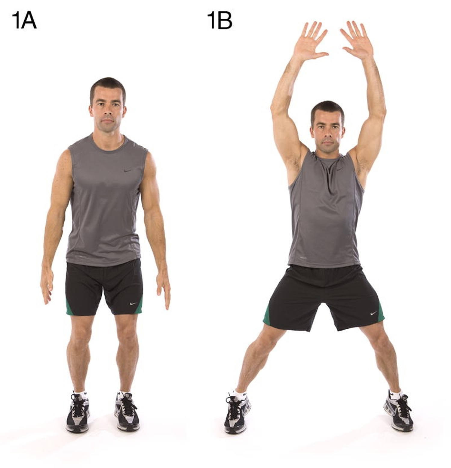jumping jacks total body