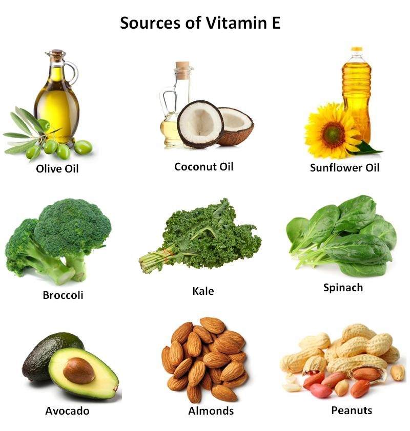 Foods that give vitamin e