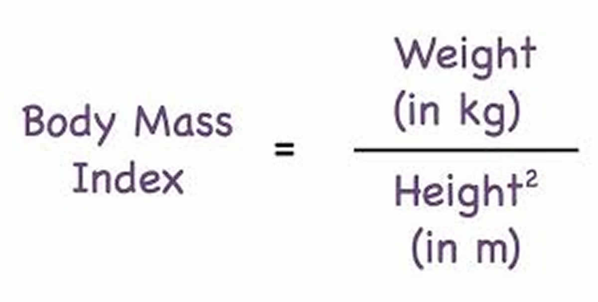 body mass index formula