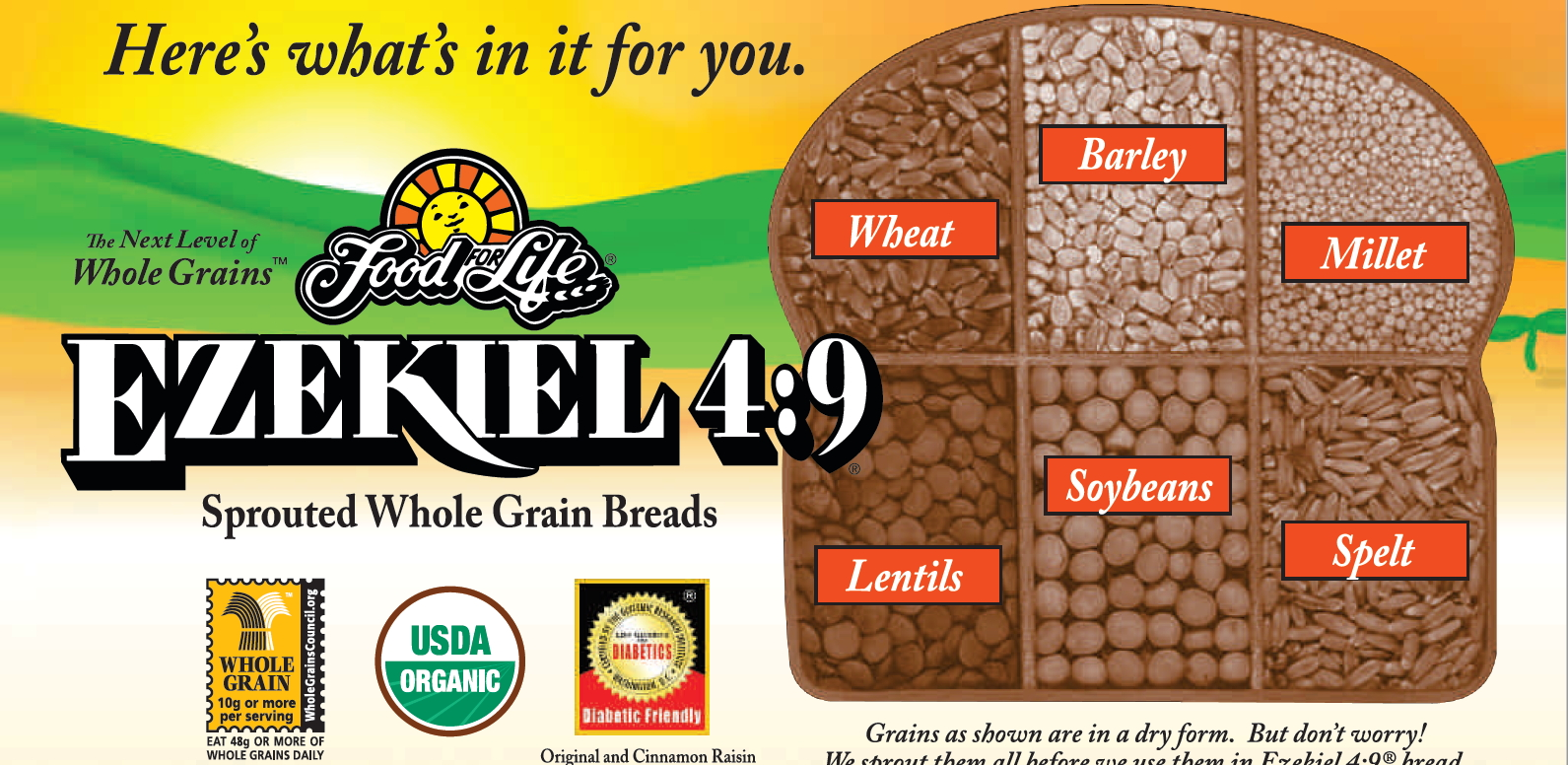 What Is Ezekiel Bread Is Ezekiel Bread Gluten Free Is It Healthy