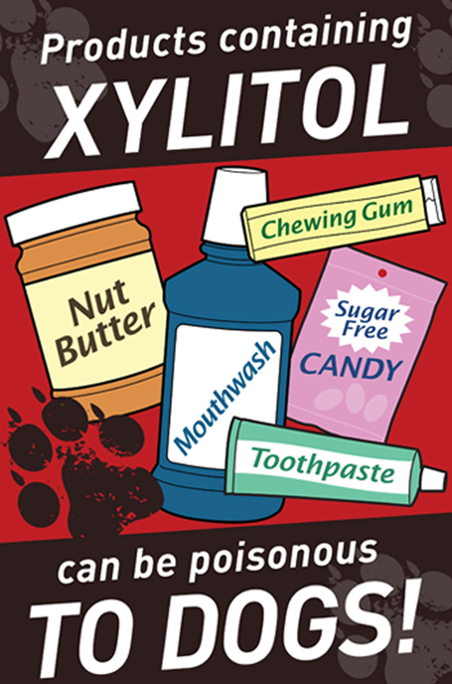 xylitol is poisonous to dogs