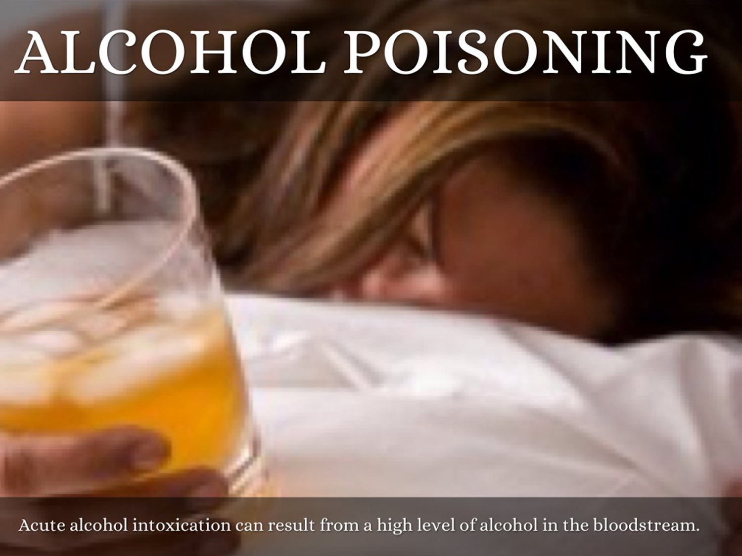 what is alcohol poisoning - signs, symptoms & treatment