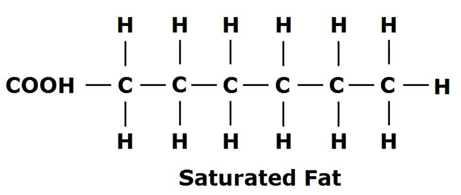 Saturated-Fatty-Acid-structure