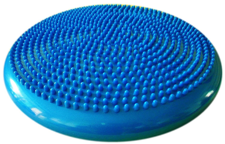 balance blue disc