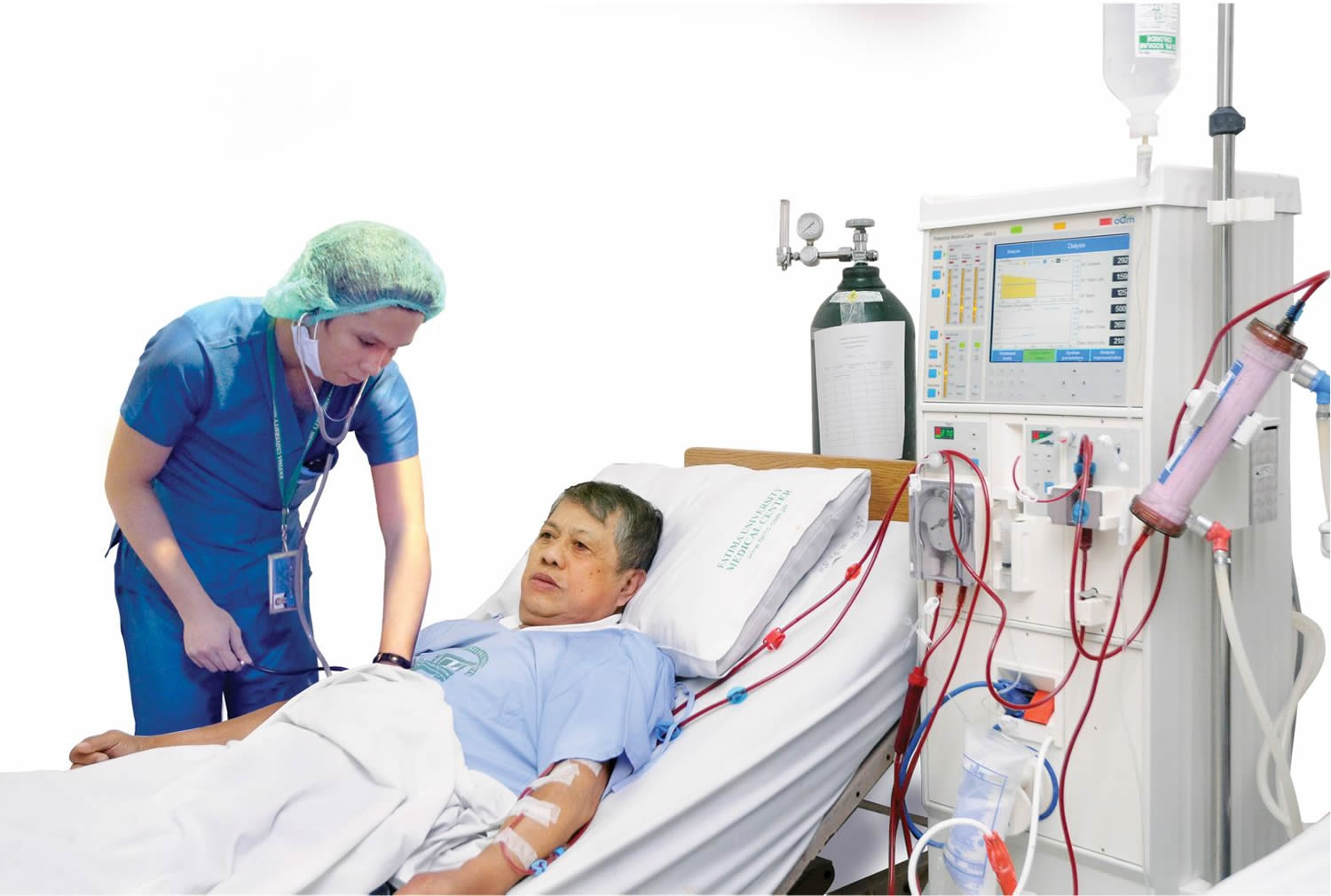 hemodialysis unit for kidney failure