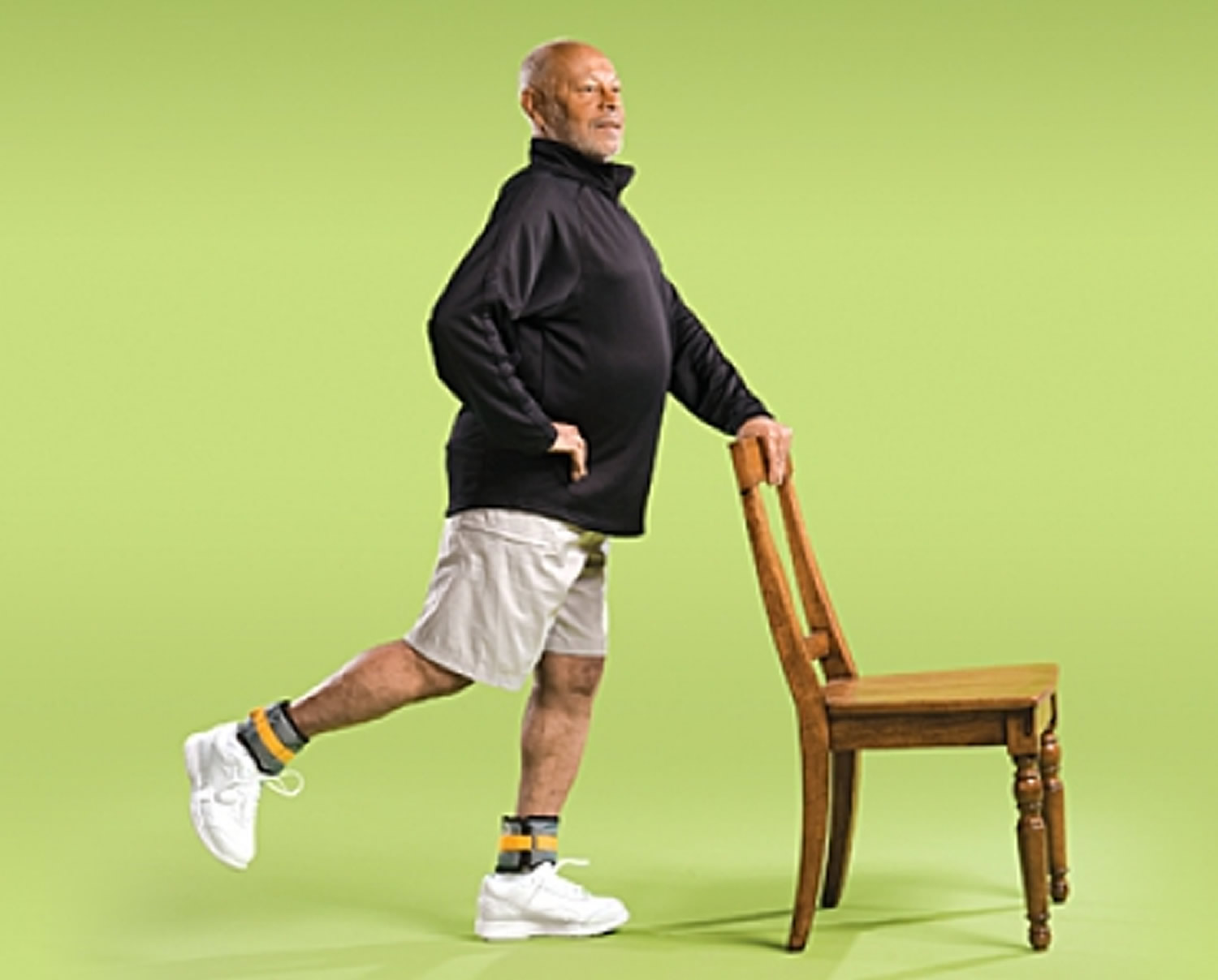 Back Leg Raise Strength Exercise for Seniors