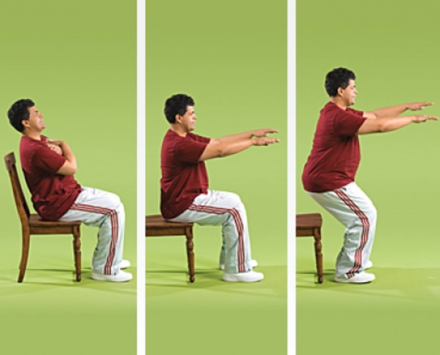 Chair Stand Strength Exercise for Seniors
