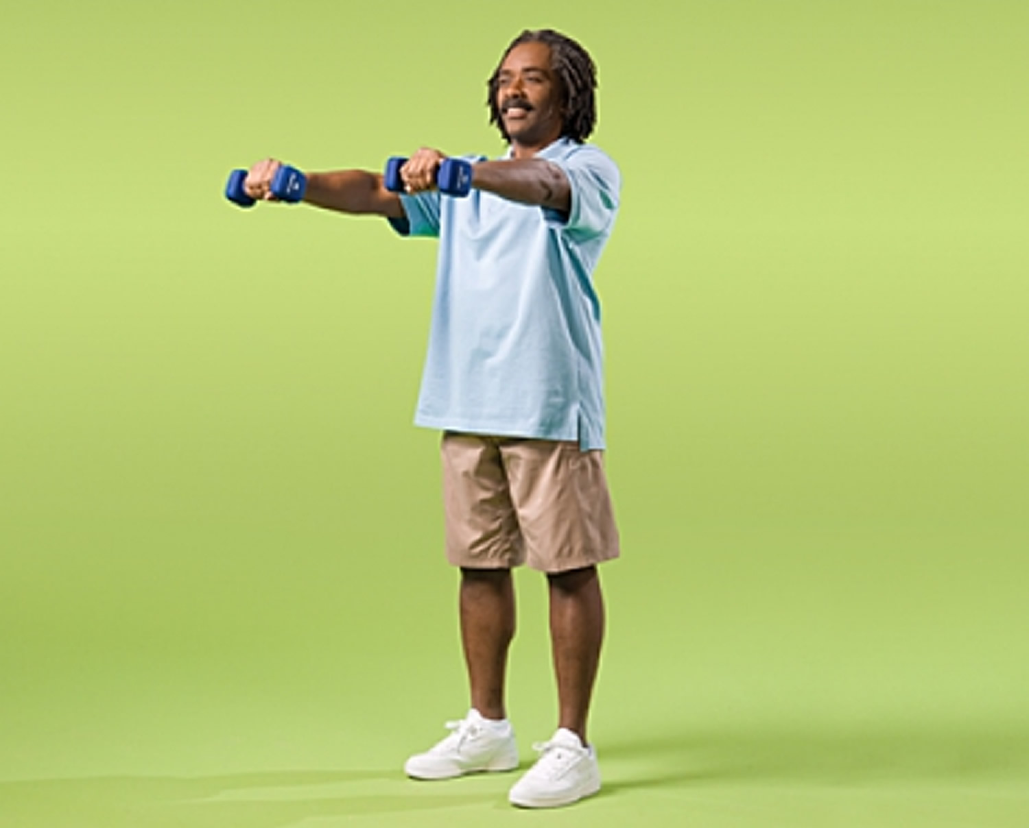 Front Arm Raise Strength Exercise for Seniors