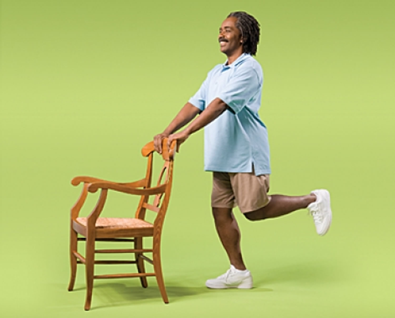 Knee Curl Strength Exercise for Seniors