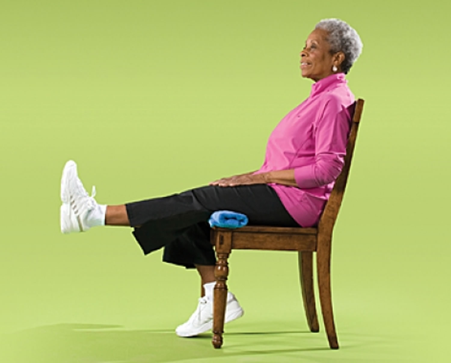 Leg Straightening Strength Exercise for Seniors
