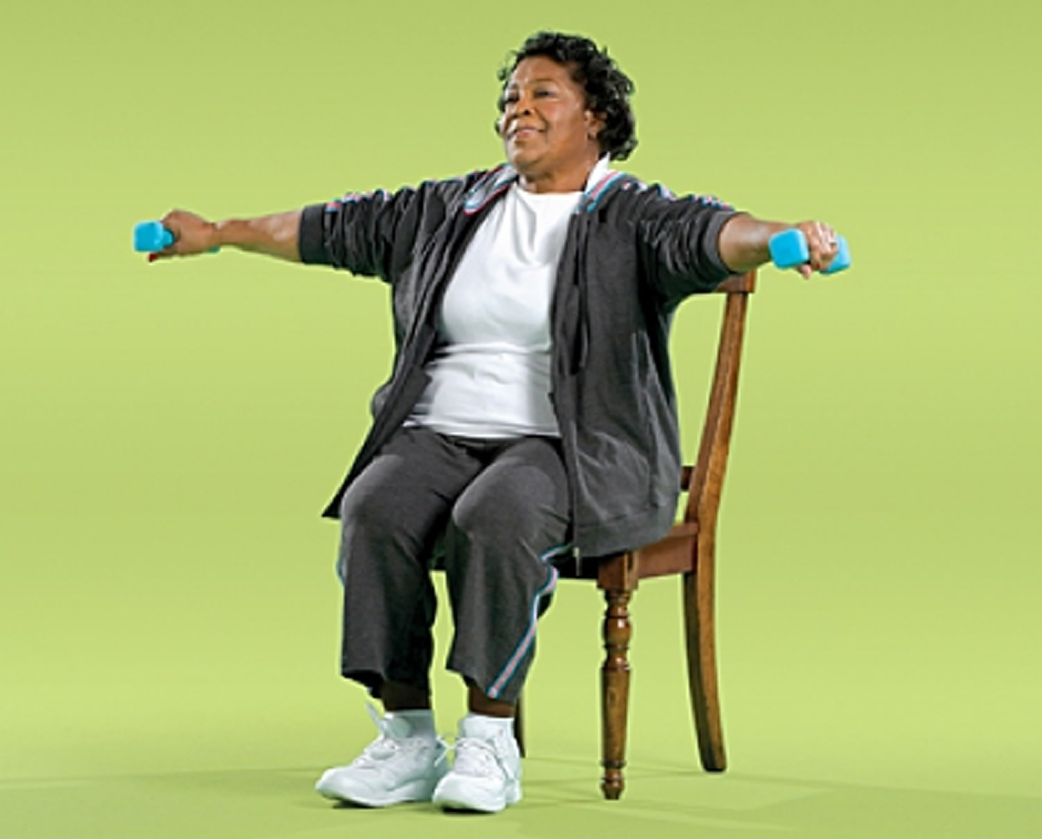 Side Arm Raise Strength Exercise for Seniors