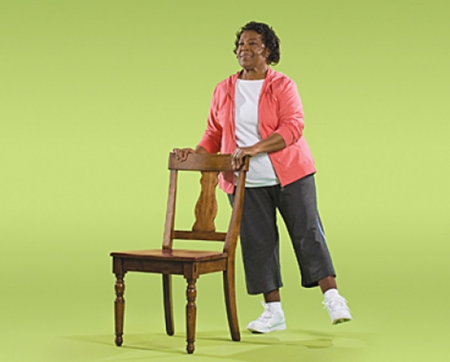 Side Leg Raise Strength Exercise for Seniors