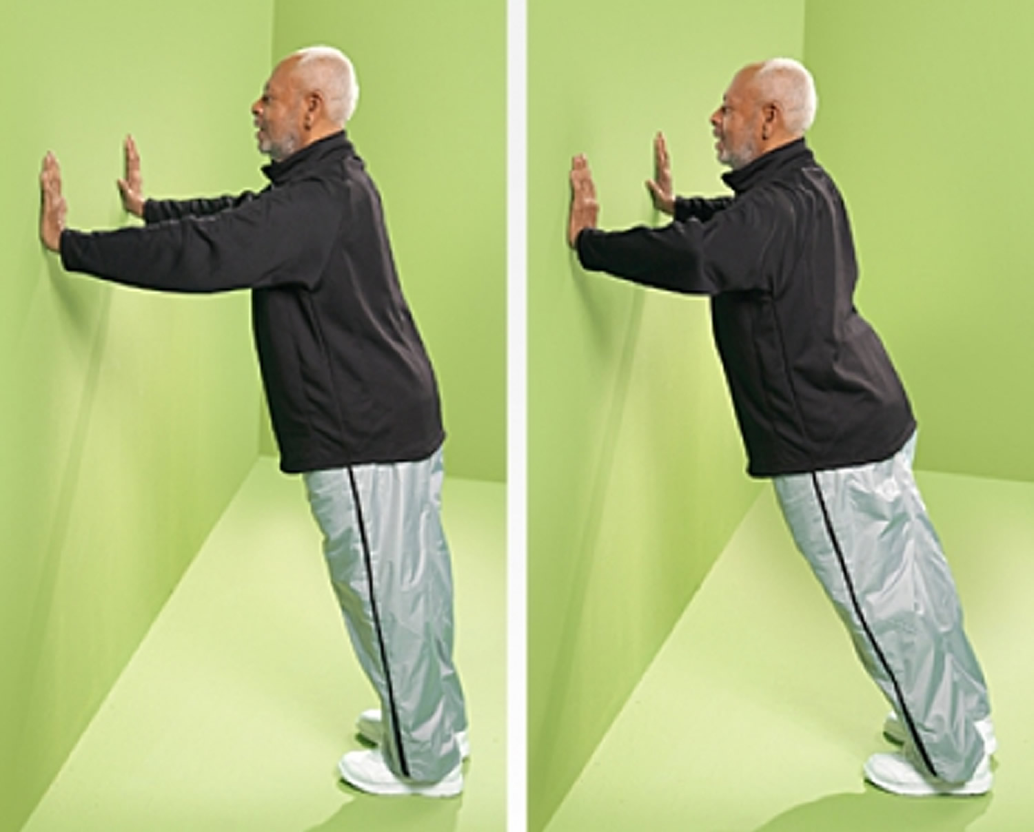Wall Push-Up Strength Exercise for Seniors