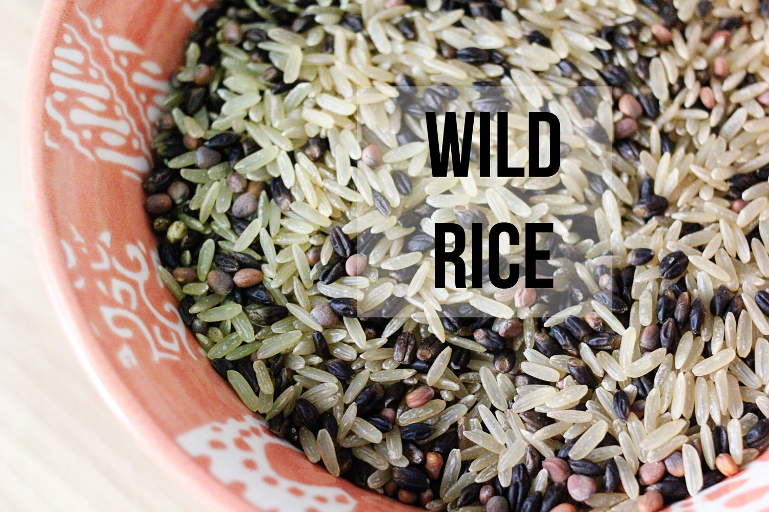 Wild Rice Nutrition Facts Calories Carbs Wild Rice