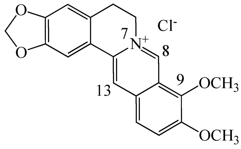 berberine structure