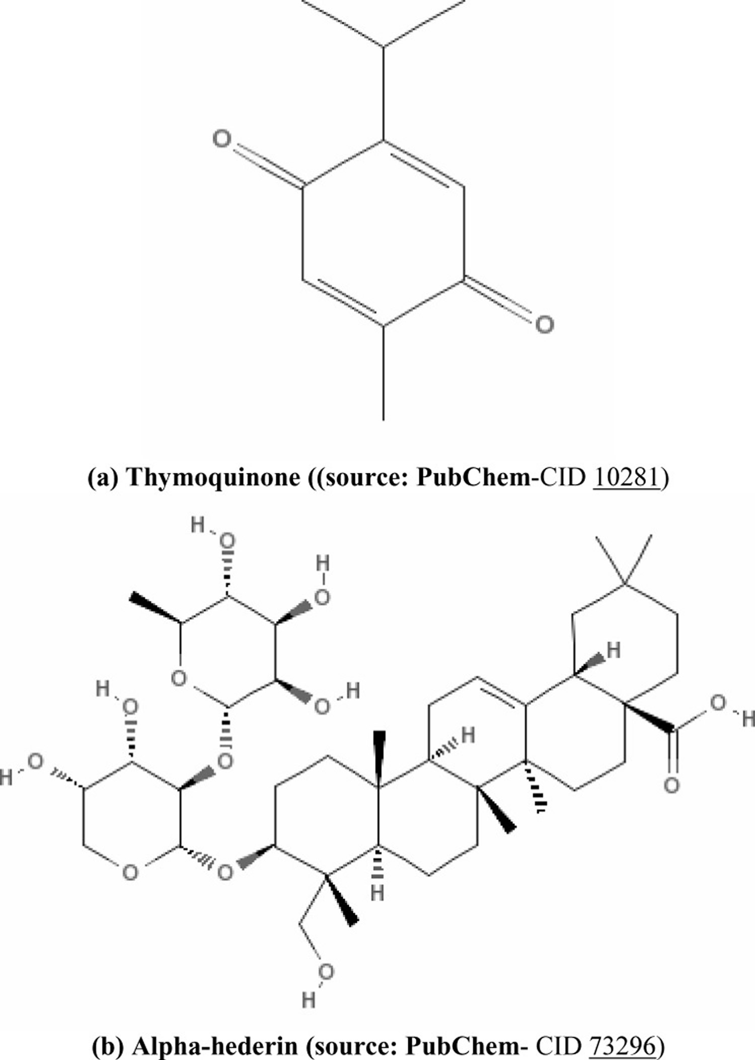thymoquinone - black seed active compounds