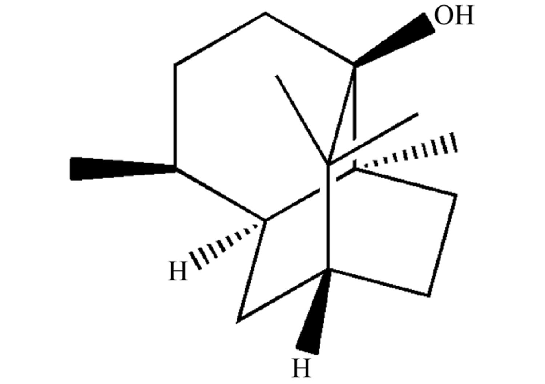 Patchouli alcohol chemical structure