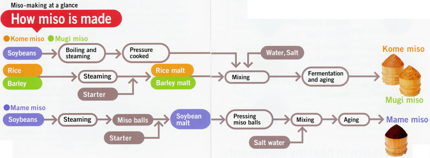 how miso is made