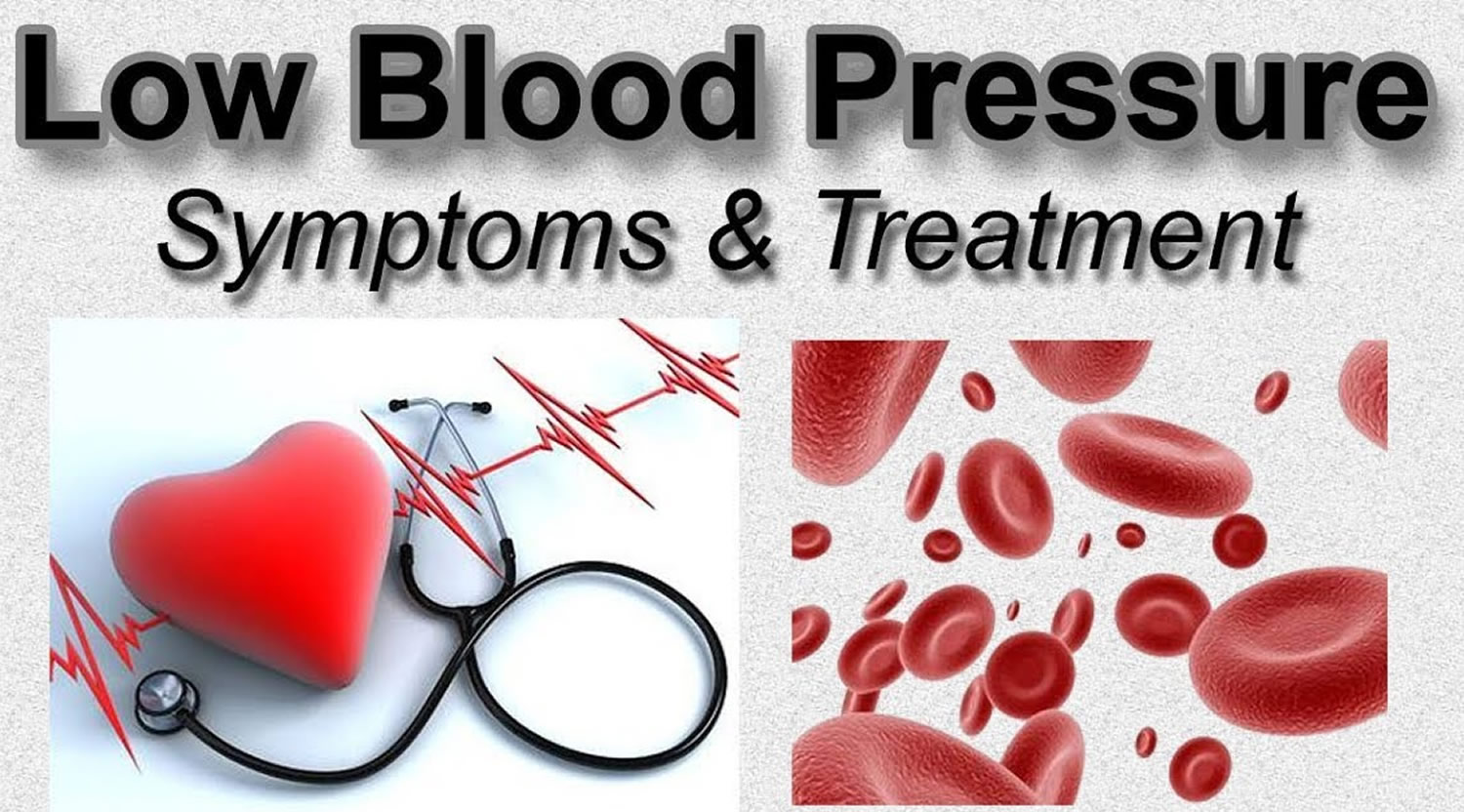 Low Blood Pressure Hypotension Causes Signs Treatment