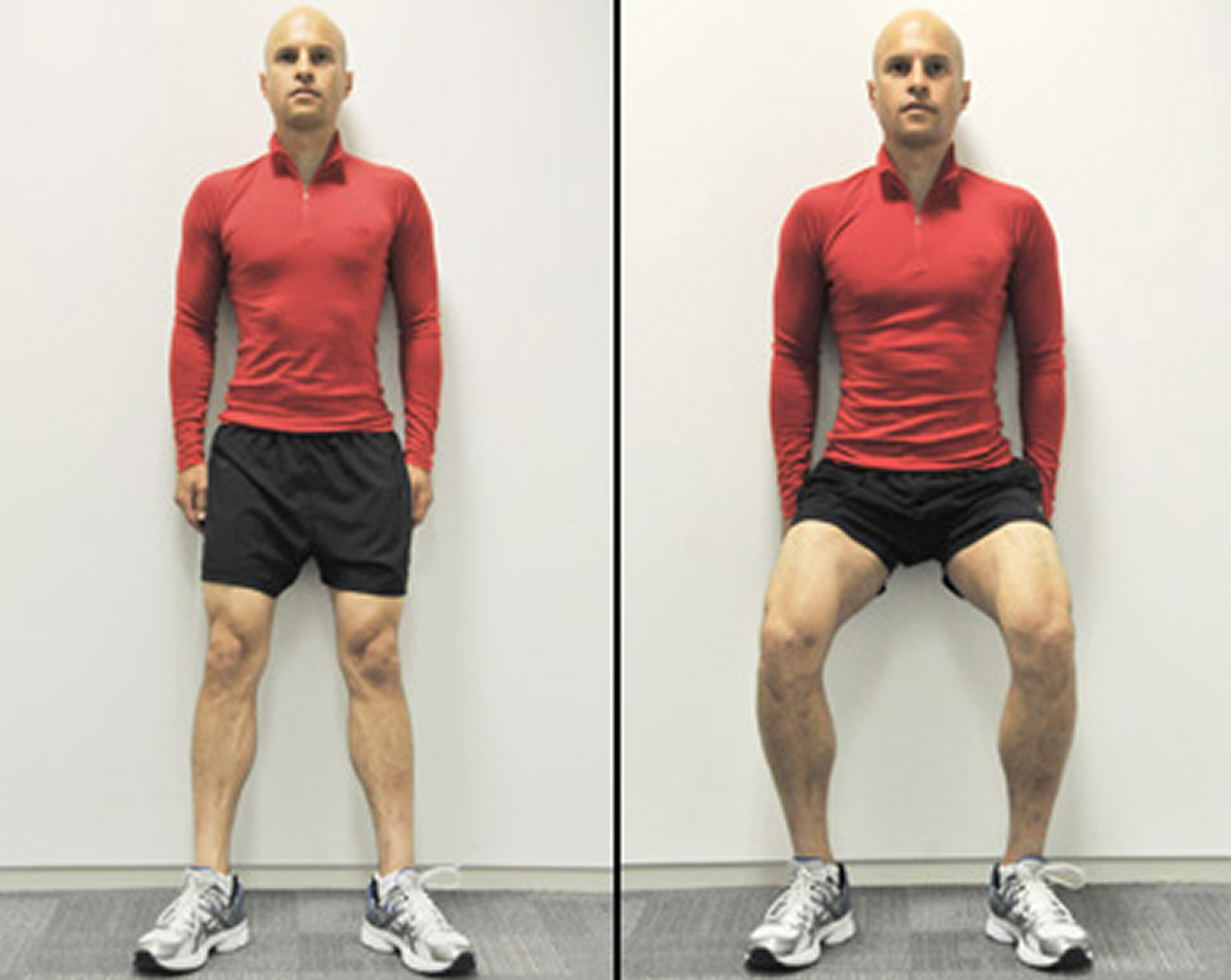 Knee bends exercise for knee pain