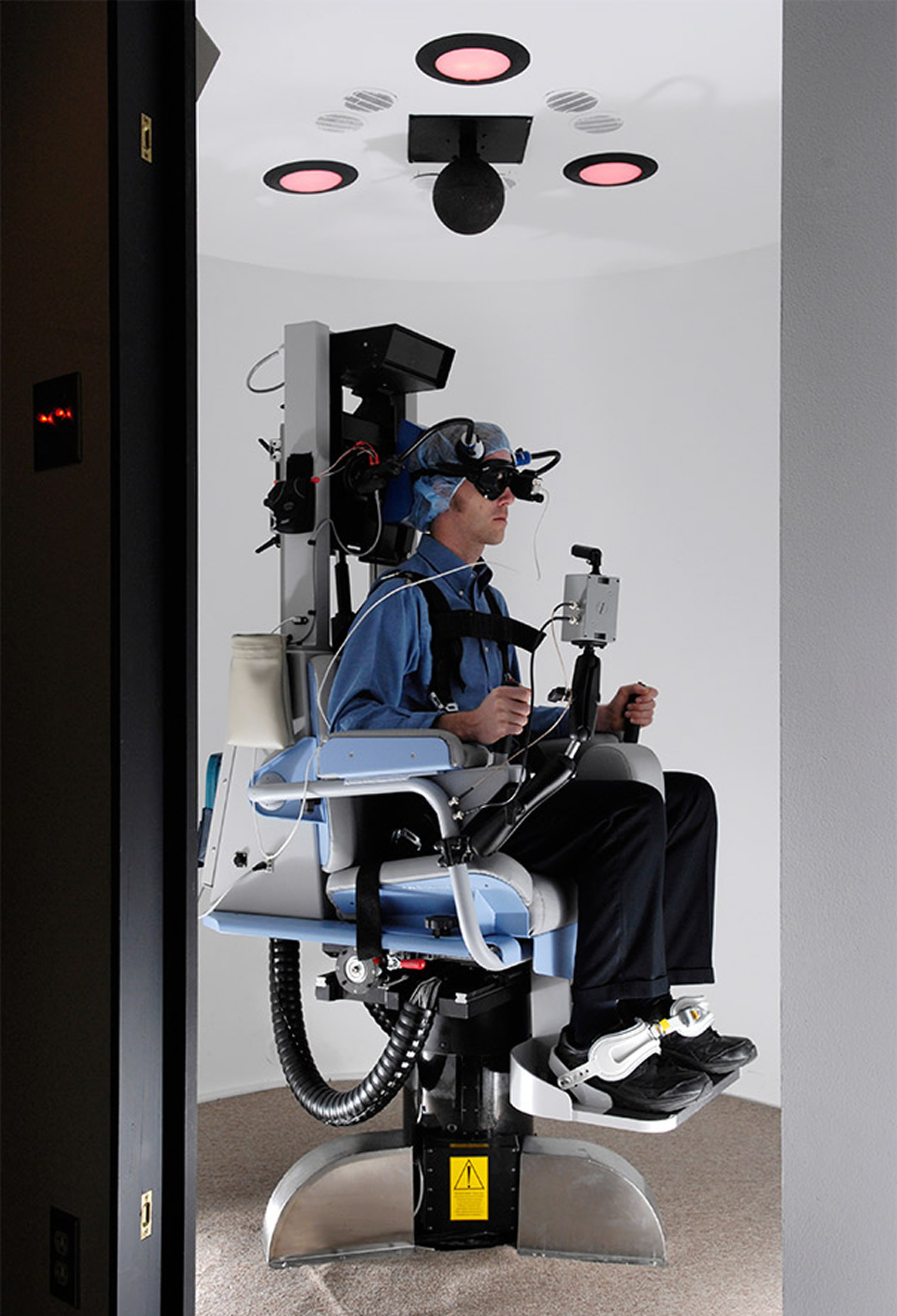 Rotary chair test