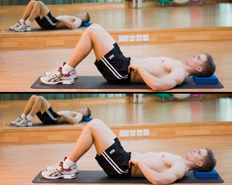 lower back pain - deep abdominal strengthening exercise