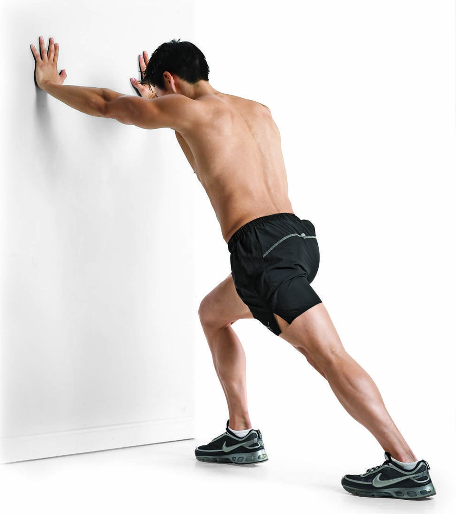 Male Static Stretching Chart: Patellofemoral Pain Syndrome
