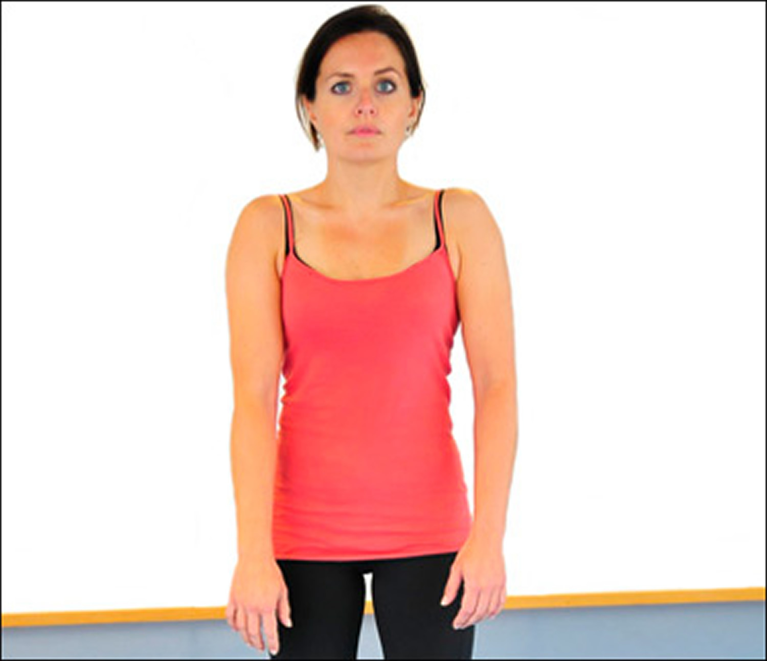 Rounded shoulders - bad posture