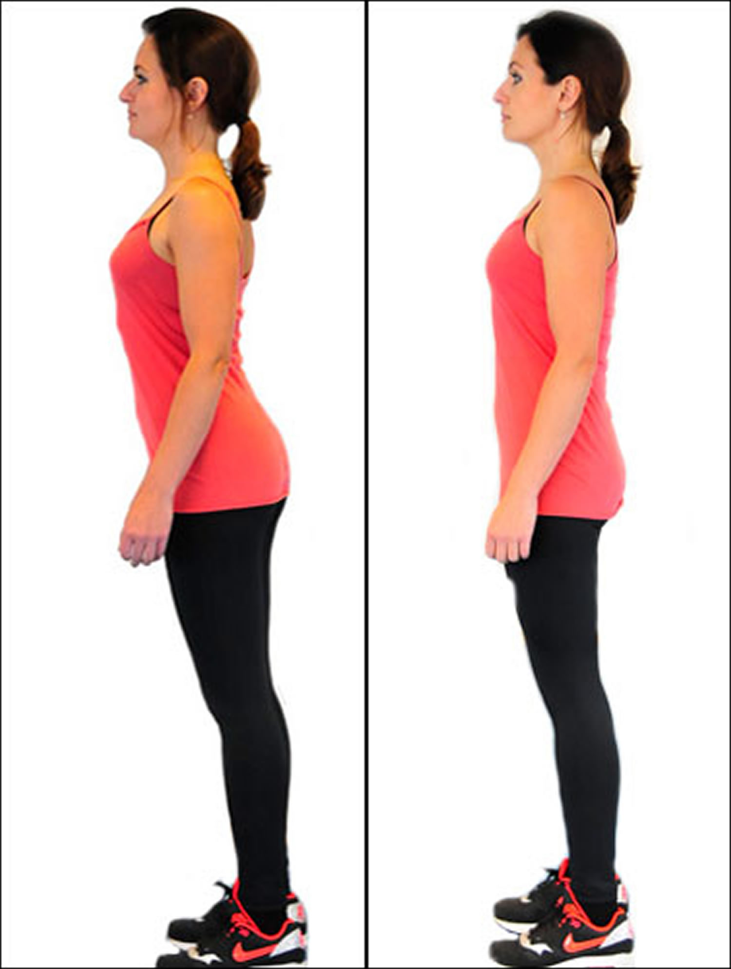 Sticking your bottom out - bad posture