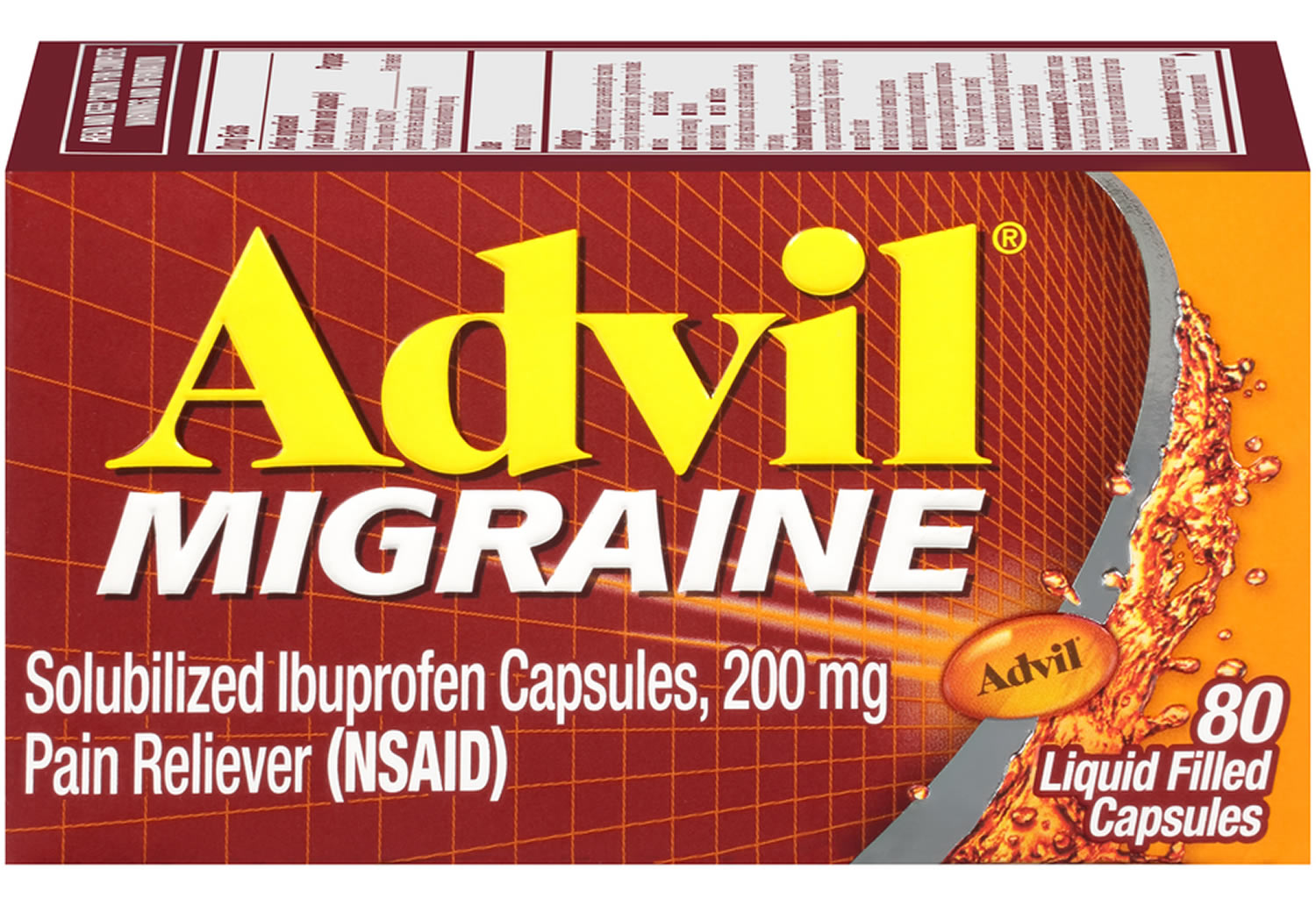 Advil Migraine Active Ingredients Dosage And Side Effects