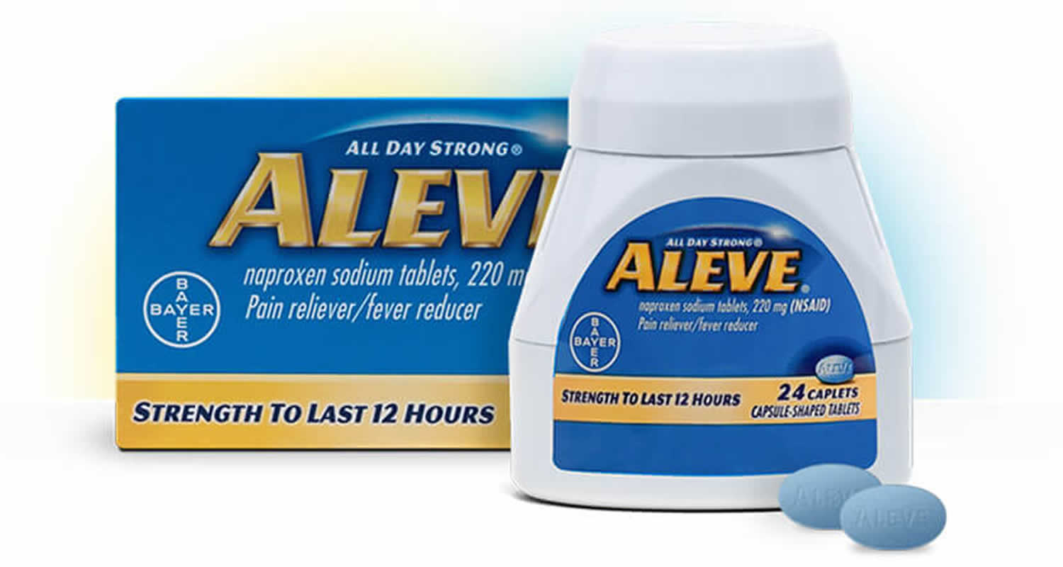 Aleve Uses Aleve Dosage Aleve Ingredients And Aleve Side Effects