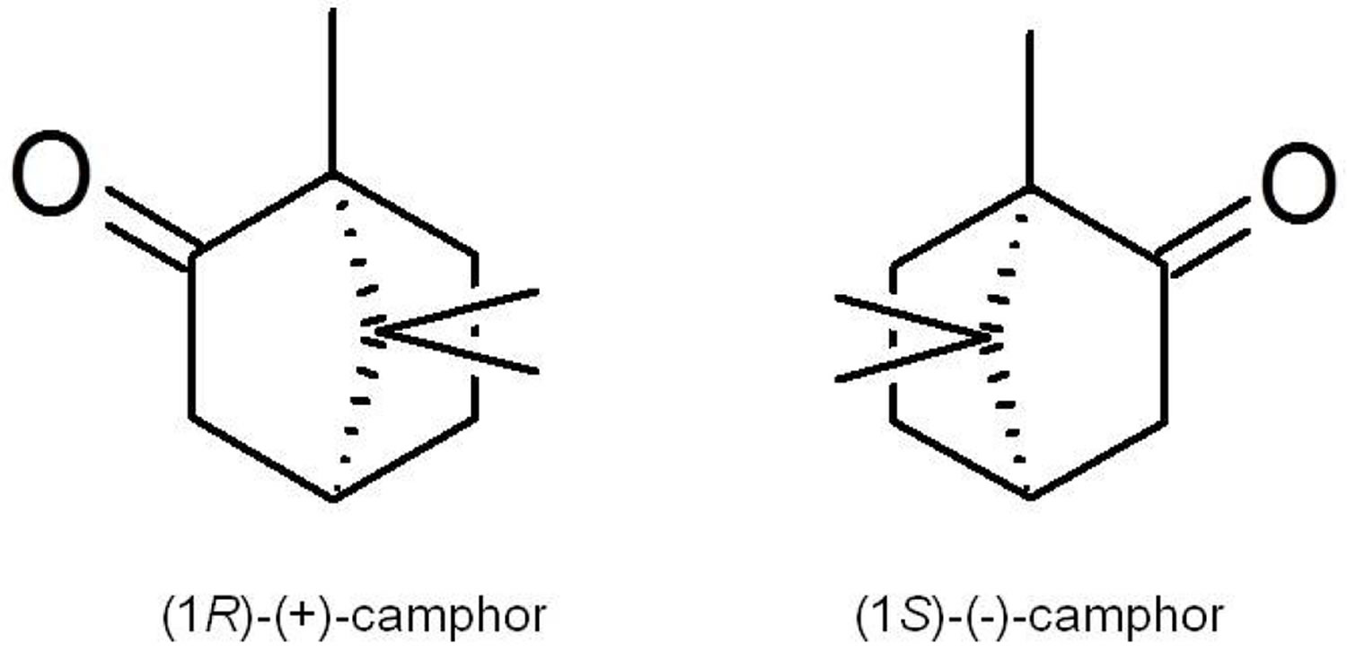 camphor chemical structure
