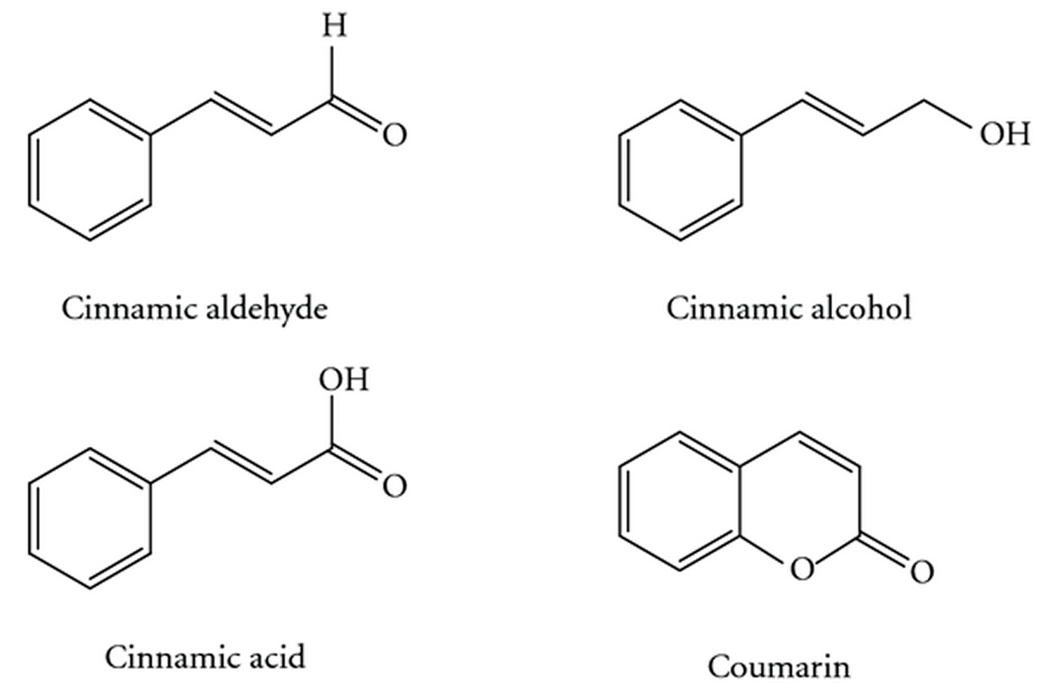 cassia chemical compounds