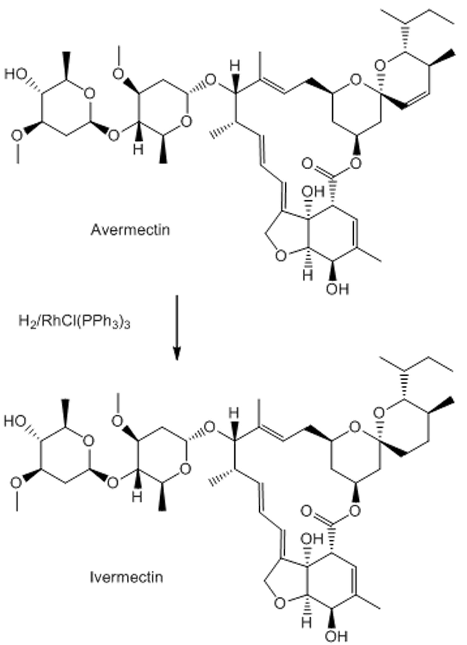 Ivermectin synthesis