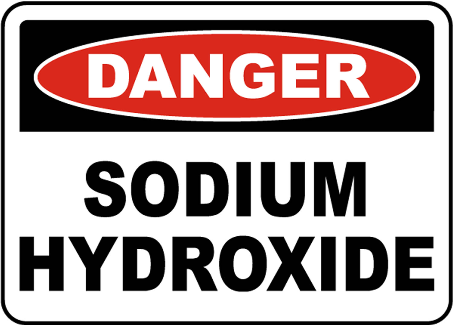 sodium hydroxide dangers