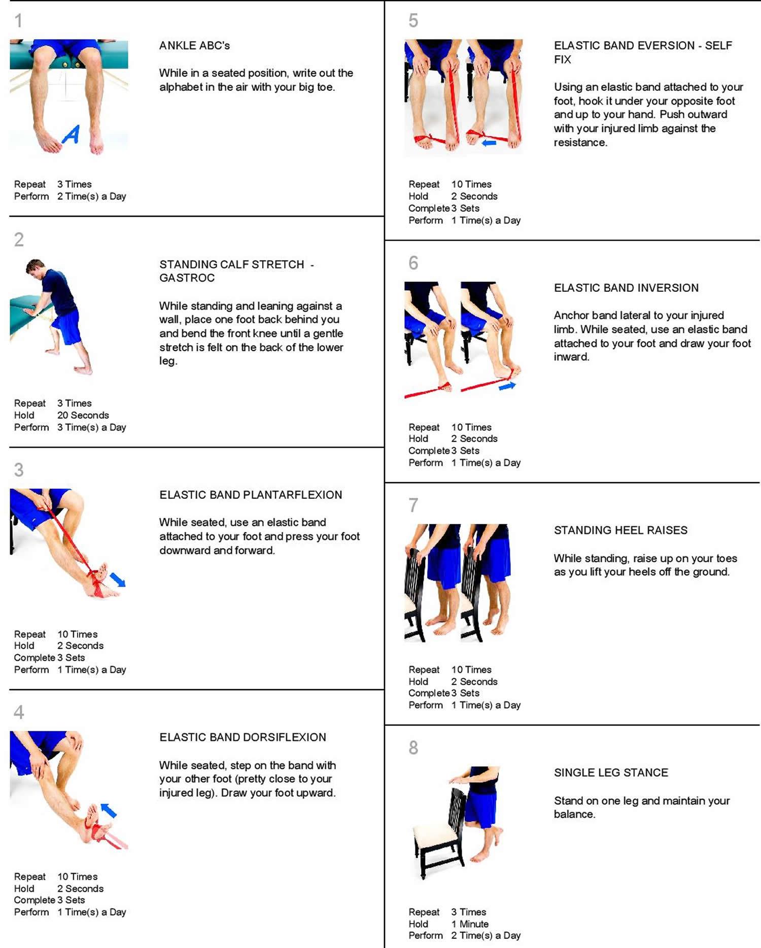 Assessments and Exercises for Ankle and Foot Health 👉 GMB Fitness