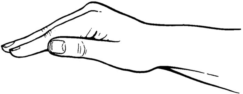 Percussion hand technique